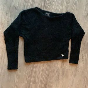 Abercrombie & Fitch black sweater